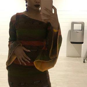 Dresses - COTTON AFRICAN DRESS
